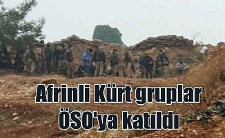 Afrinli Kürtler PKK'yı terketti, ÖSO'ya katıldı