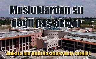 Ankara'nın ünlü hastanesindeki pislik vatandaşları isyan ettirdi