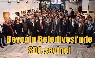 Beyoğlu Belediyesi, çalışanlarının yüzünü güldürdü