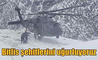 Bitlis Şehitleri uğurlanıyor: Konya Ereğli şehidini bekliyor
