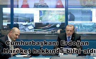 Cumhurbaşkanı Erdoğan, Zeytin Dalı Harekatı'na ilişkin bilgi aldı