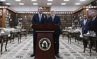 Dışişleri Bakanı Çavuşoğlu: Teröristler Suriye''den temizlenmeli