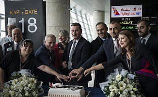 Fly Bağdat Hava Yollarının Ankara-Bağdat uçuşları başladı