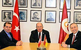 Galatasaray'da yönetim devir teslimi yapıldı