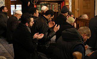 Hacı Bayram Camisi'nde Mehmetçik'e dua