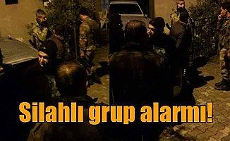İskenderun'da silahlı grup yürüyüş yaptı iddiası