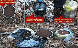 Lice'de 18 sığınak ile 6 tuzaklanmış patlayıcı imha edildi