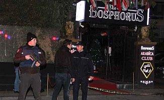 Ortaköy Bosphorus Arabica Club'e silahlı saldırı