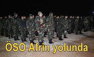 Özgür Suriye Ordusu Türk bayrakları çekti