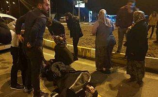 Seydişehir Bozkır karayolunda kaza, Sağlık çalışanları ölümden döndü