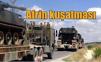 Son Dakika Afrin; Afrin'e operasyon için son hazırlıklar