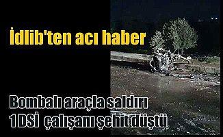 Son Dakika İdlib; Türk askeri konvoyuna saldırı, şehit var
