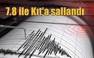 Son Depremler, Güney Amerika 7.8'lik depremle sarsıldı