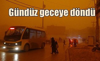 Toz bulutu Mardin ve Diyarbakır'ı vurdu: Yağmur değil çamur yağdı