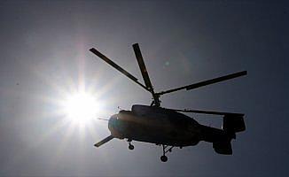 Ukrayna'da helikopter düştü: 4 ölü