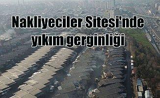 Zeytinburnu'nda yıkım gerginliği: Nakliyeciler Sitesi'nde eylem var