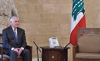 ABD Dışişleri Bakanı Tillerson'a Lübnan'da