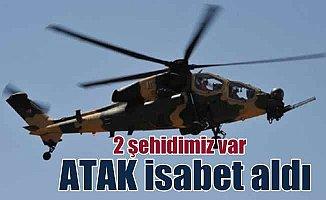 Afrin'de son durum; Afrin'de helikopterimiz düştü, 2 şehit var