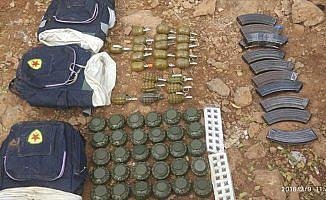 Afrin'de yasaklı anti-personel mayınları ele geçirildi
