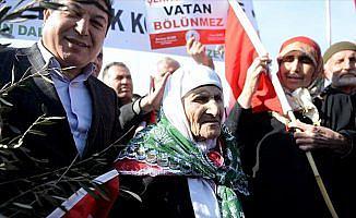 Asırlık nineden Zeytin Dalı Harekatı'na destek