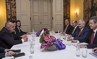 Başbakan Yıldırım, Bulgar mevkidaşı Borisov ile görüştü