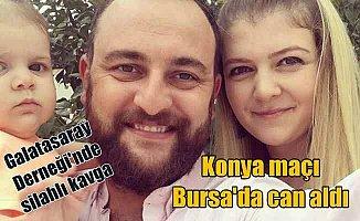 Bursa Galatasaraylılar Derneği'nde silahlı kavga 1 ölü var