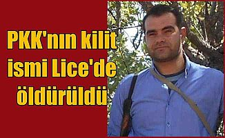 Diyarbakır Lice'de çatışma: PKK'nın kilit ismi Murat Üçer öldürüldü