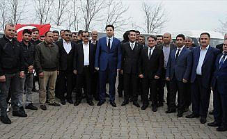 Diyarbakırlı şoförlerden Mehmetçik'e destek