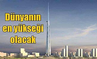 Dünyanın en yükseği: Cidde'ye 1 KM yükseklikte kule dikiliyor
