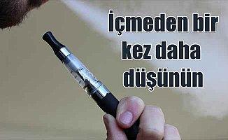 Elektronik sigara zehirlenmeye yol açıyor