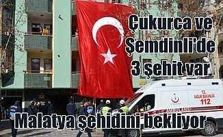 Hakkari Çukurca ve Şemdinli'de saldırı   Malatya'ya şehit ateşi düştü