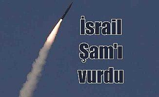 İsrail Suriye'ye saldırdı; Şam'a füzeli saldırı