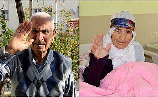 Mehmetçik'in kurtardığı Afrinli yaşlılardan Türkiye'ye teşekkür