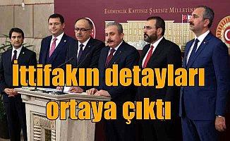 MHP - AK Parti ittifak metni ortaya çıktı: Ortak liste geliyor