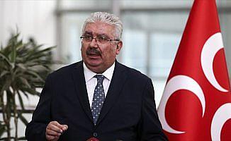 MHP Genel Başkan Yardımcısı Yalçın: Üç parti ittifaklarına darbe ittifakı desinler