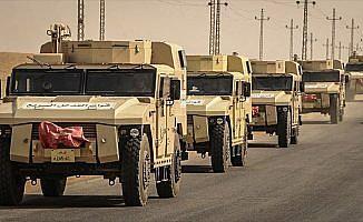 Mısır ordusu geniş çaplı terörle mücadele operasyonu başlattı