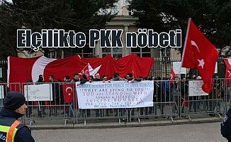 PKK'nın elçilik saldırısına karşı vatandaşlar nöbette