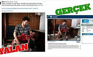 PYD/PKK destekçileri, AA'dan ödüllü fotoğrafı yalanlarına alet etti