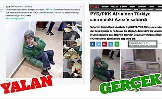 PYD/PKK kendi yaptığı saldırıyı TSK'ya mal etmek istedi