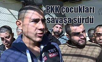 PYD/PKK'nın zorla silahlandırdığı çocuklar yaşadıkları zulmü anlattı