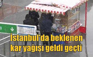 Son dakika hava durumu, İstanbul'da hava durumu