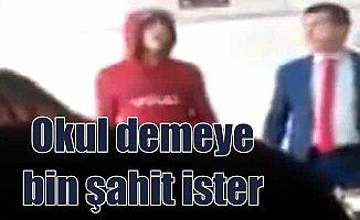 Tekirdağ Çorlu'da skandal görüntüler: Okul değil ahır