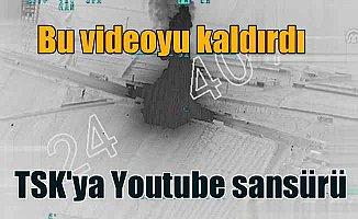 Youtube'dan teröristlere 'Sansür' kıyağı; TSK videosuna şiddet sansürü