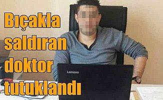 Zonguldak'ta polis memurlarını yaralayan doktor tutuklandı