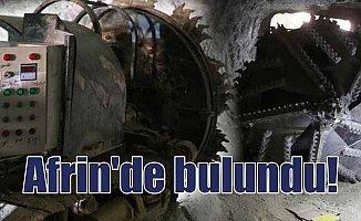Afrin'de PKK'nın yeni tünelleri bulundu