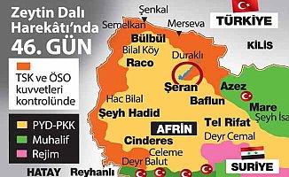 Afrin'de son durum: Teröristlere ABD'den kritik destek