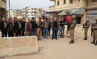 Afrin halkından Mehmetçiğe tam destek