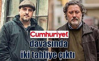 Ahmet Şık ve Murat Sabuncu tahliye edildi