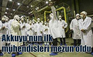 Akkuyu NGS'nin ilk Türk mühendisleri mezun oldu