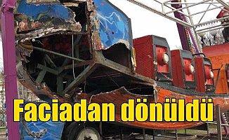 Ankara'da lunaparkta gondol skandalı: Kol koptu, faciadan dönüldü